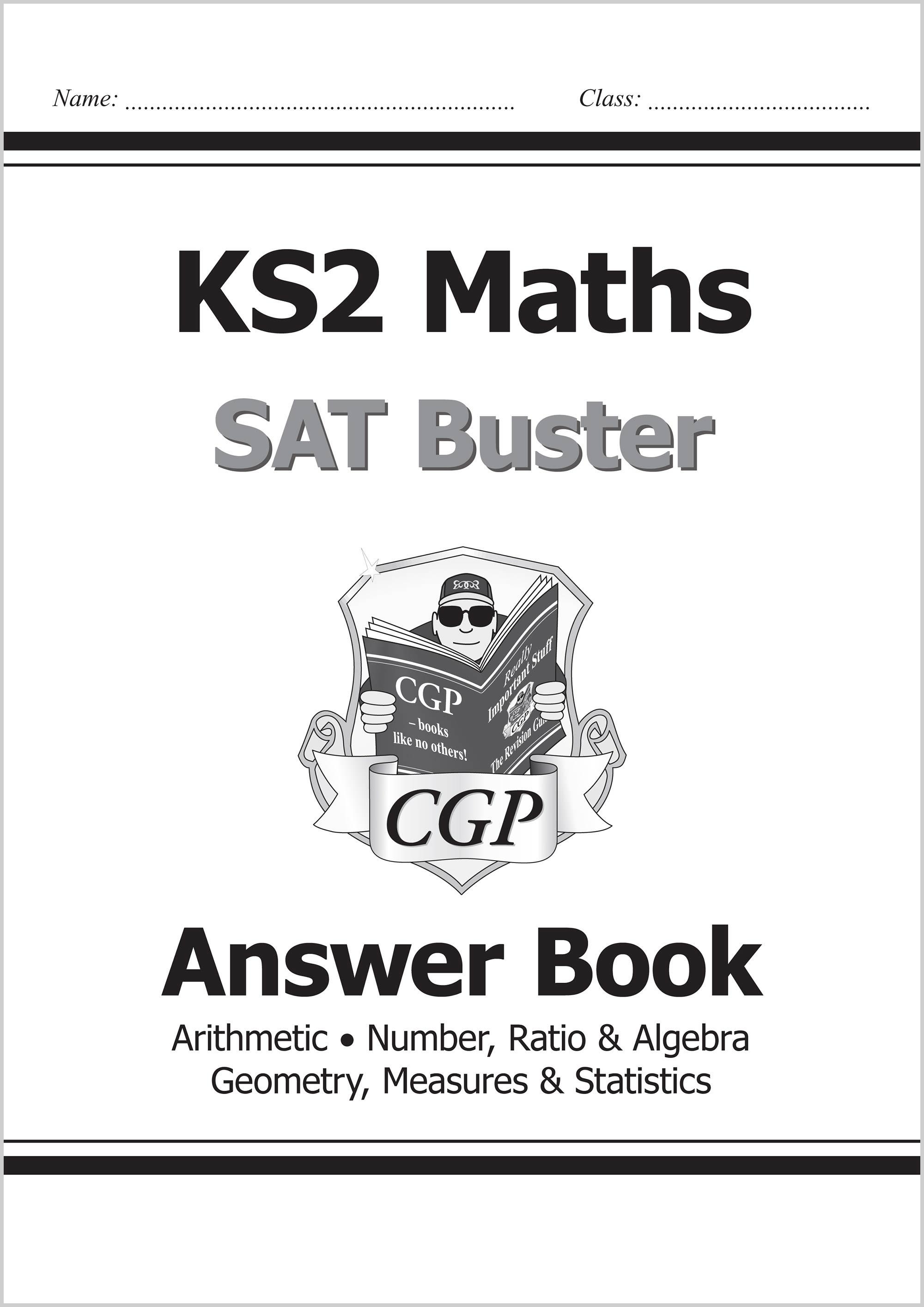 Ks2 Maths Sat Buster Number Ratio Amp Algebra Book 1 For The Tests