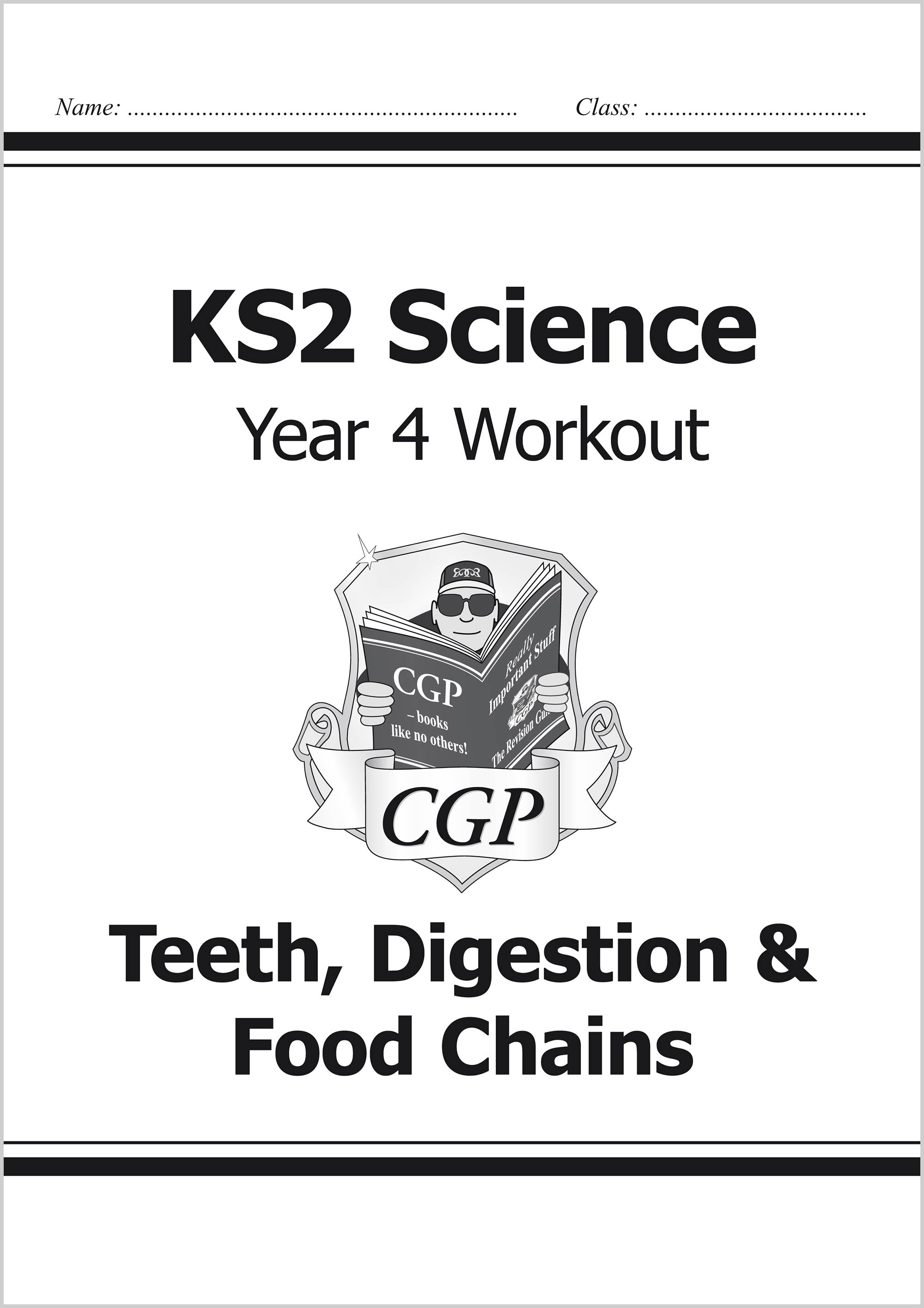 KS2 Science Year Four Workout: Teeth, Digestion & Food