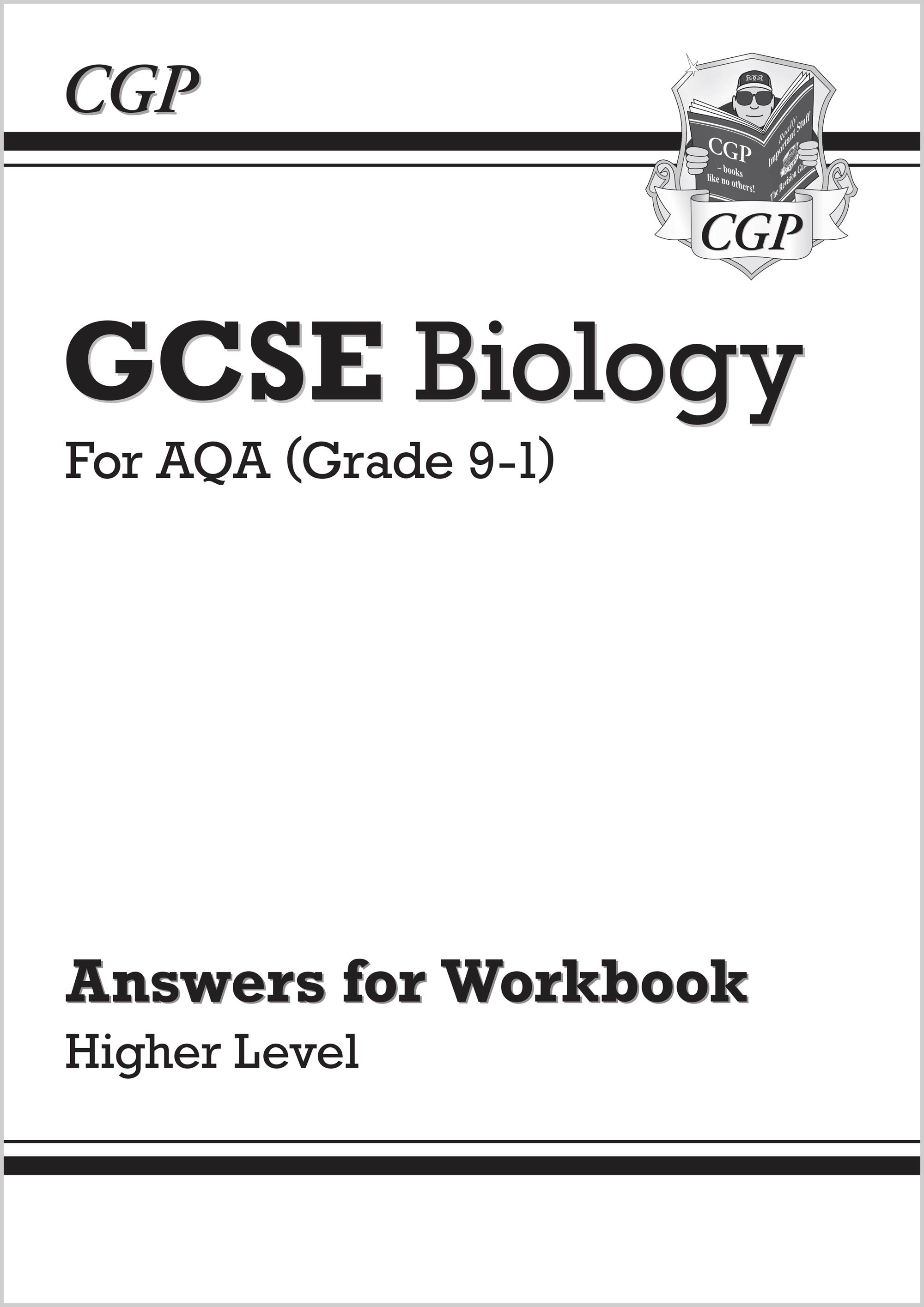 New Grade 9-1 GCSE Biology: AQA Answers (for Workbook