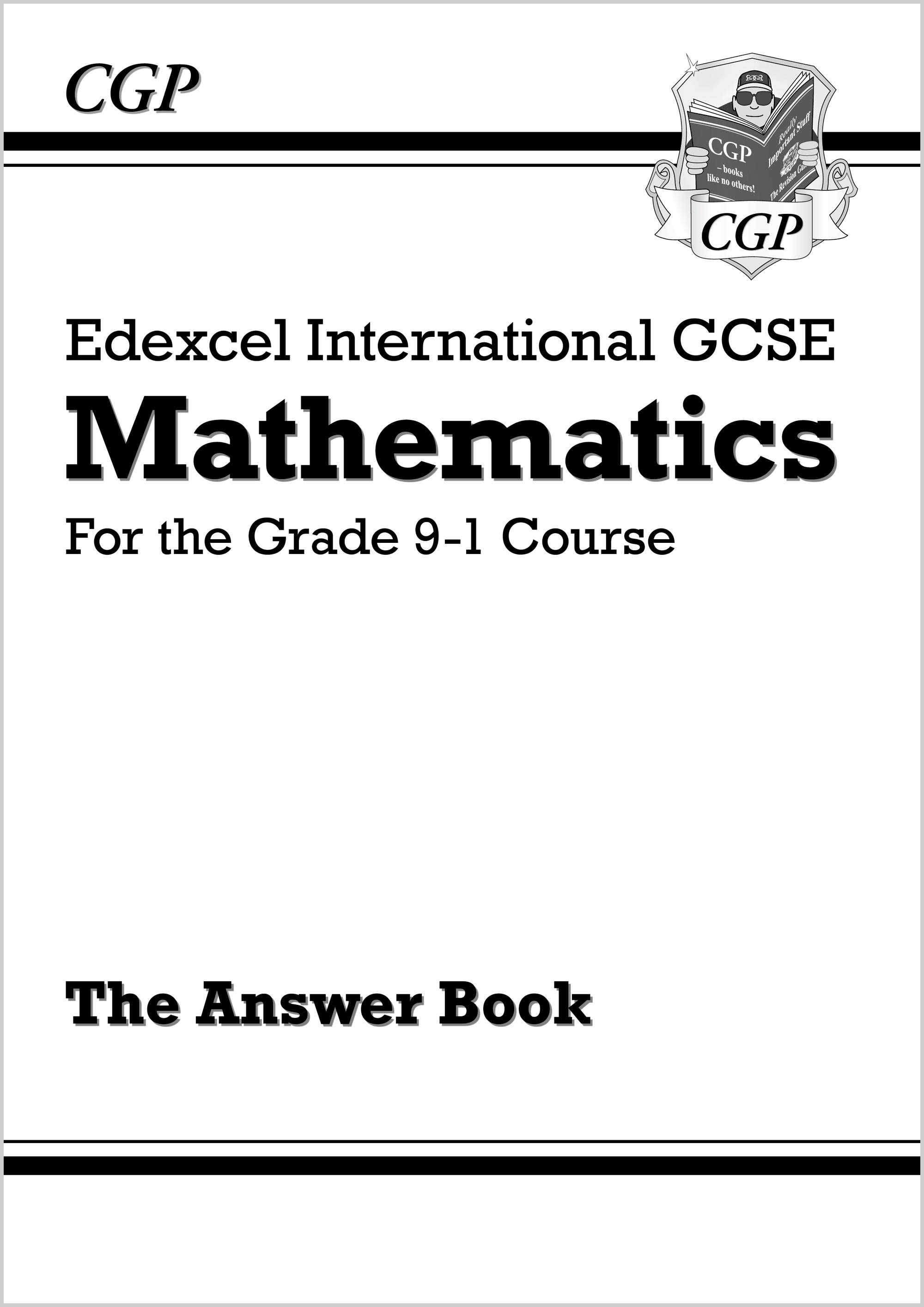 Edexcel International GCSE Maths Answers for Workbook