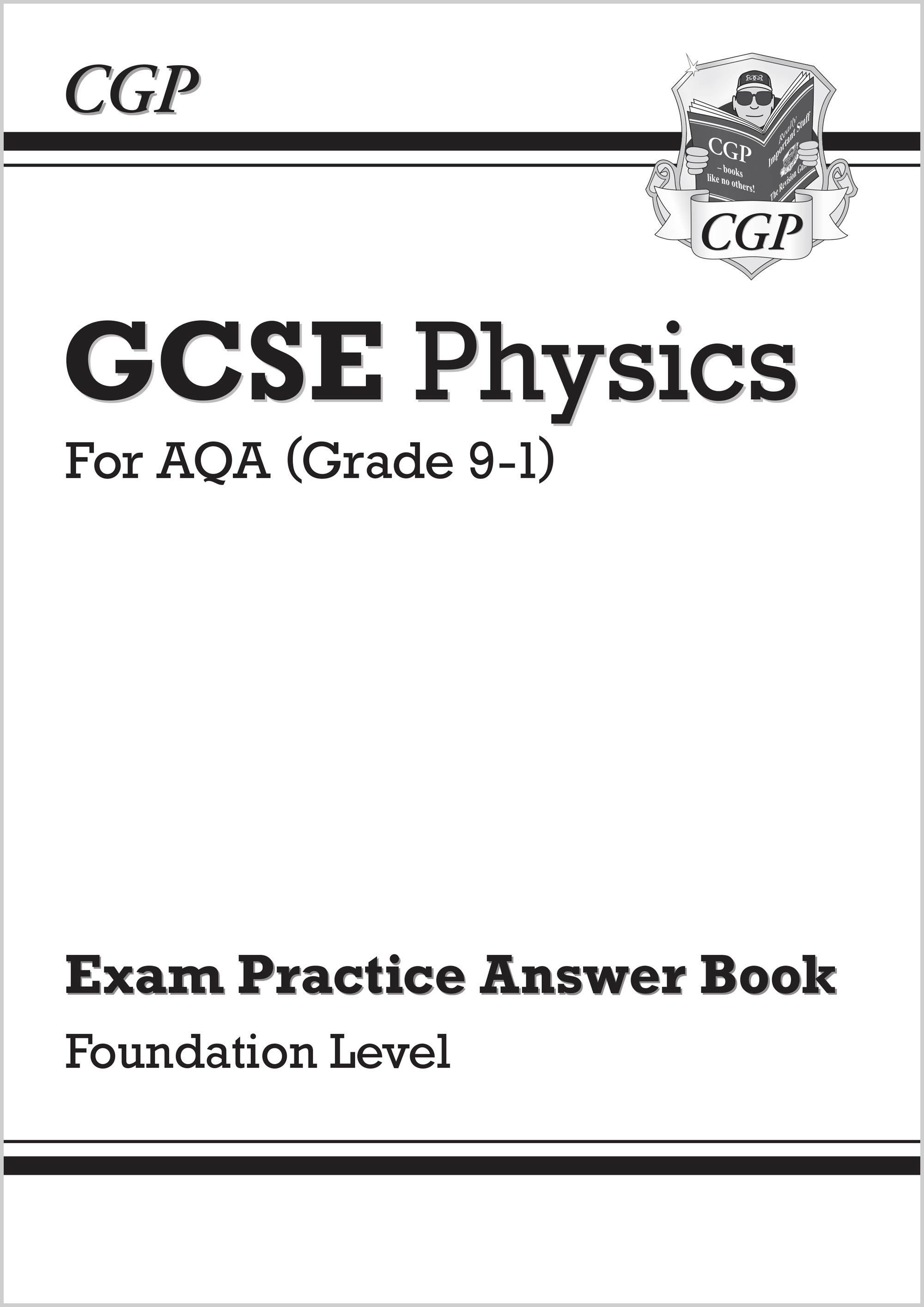 New GCSE Physics: AQA Answers (for Exam Practice Workbook