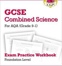 grade 9 1 gcse combined science aqa exam practice workbook foundation [ 2000 x 2829 Pixel ]