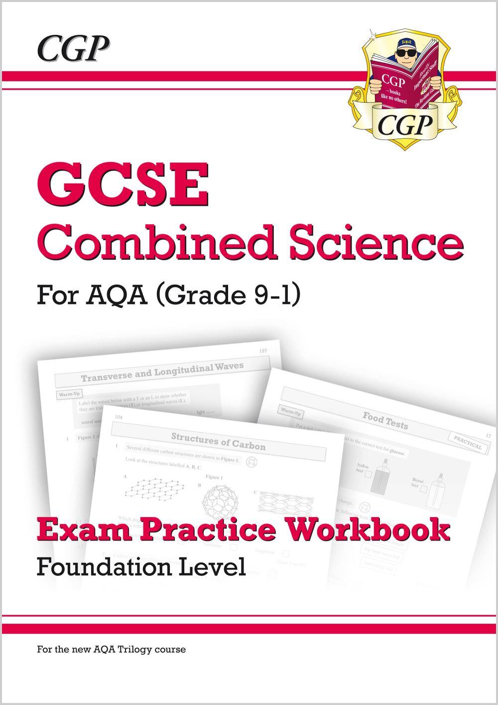medium resolution of grade 9 1 gcse combined science aqa exam practice workbook foundation
