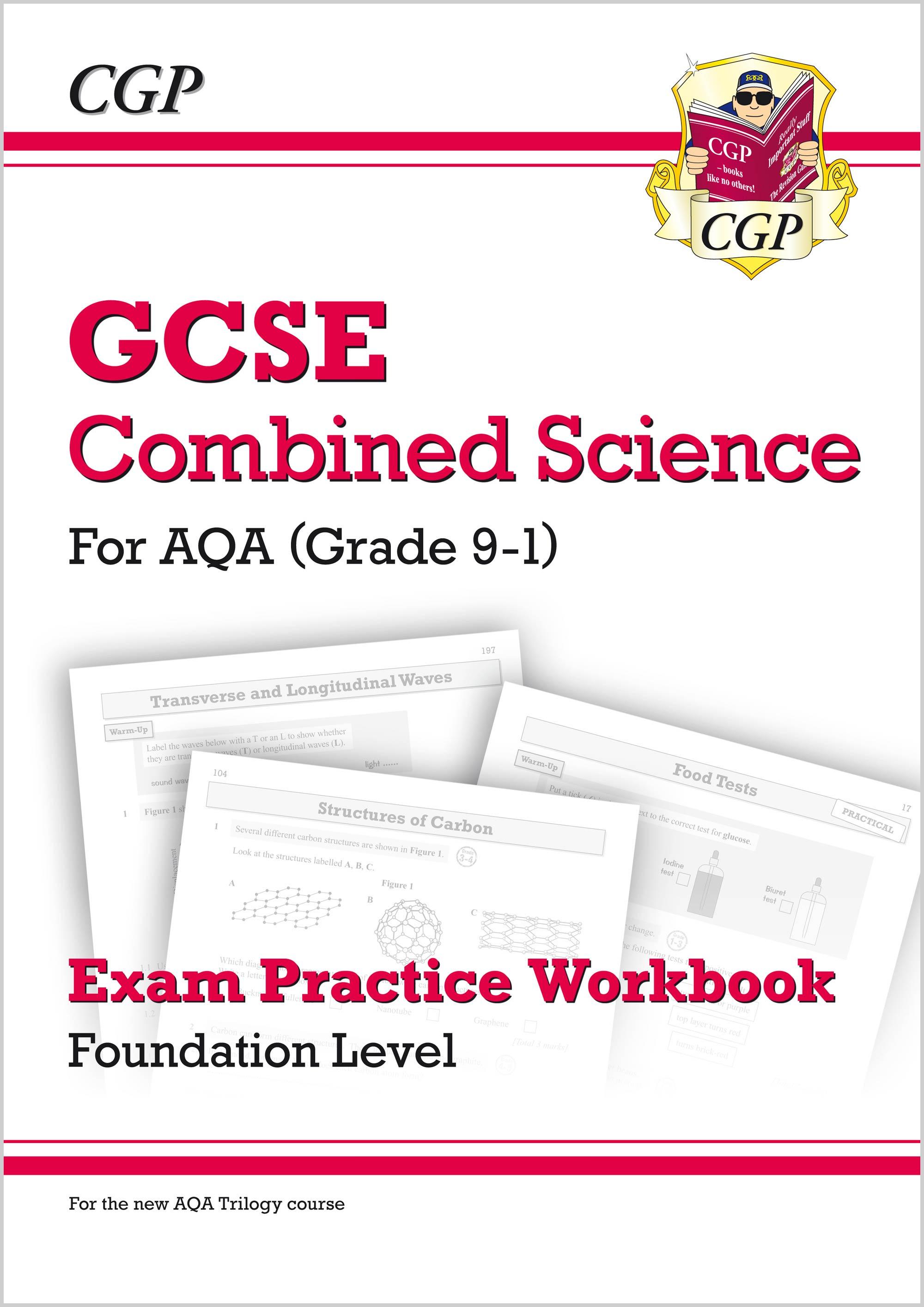 hight resolution of grade 9 1 gcse combined science aqa exam practice workbook foundation