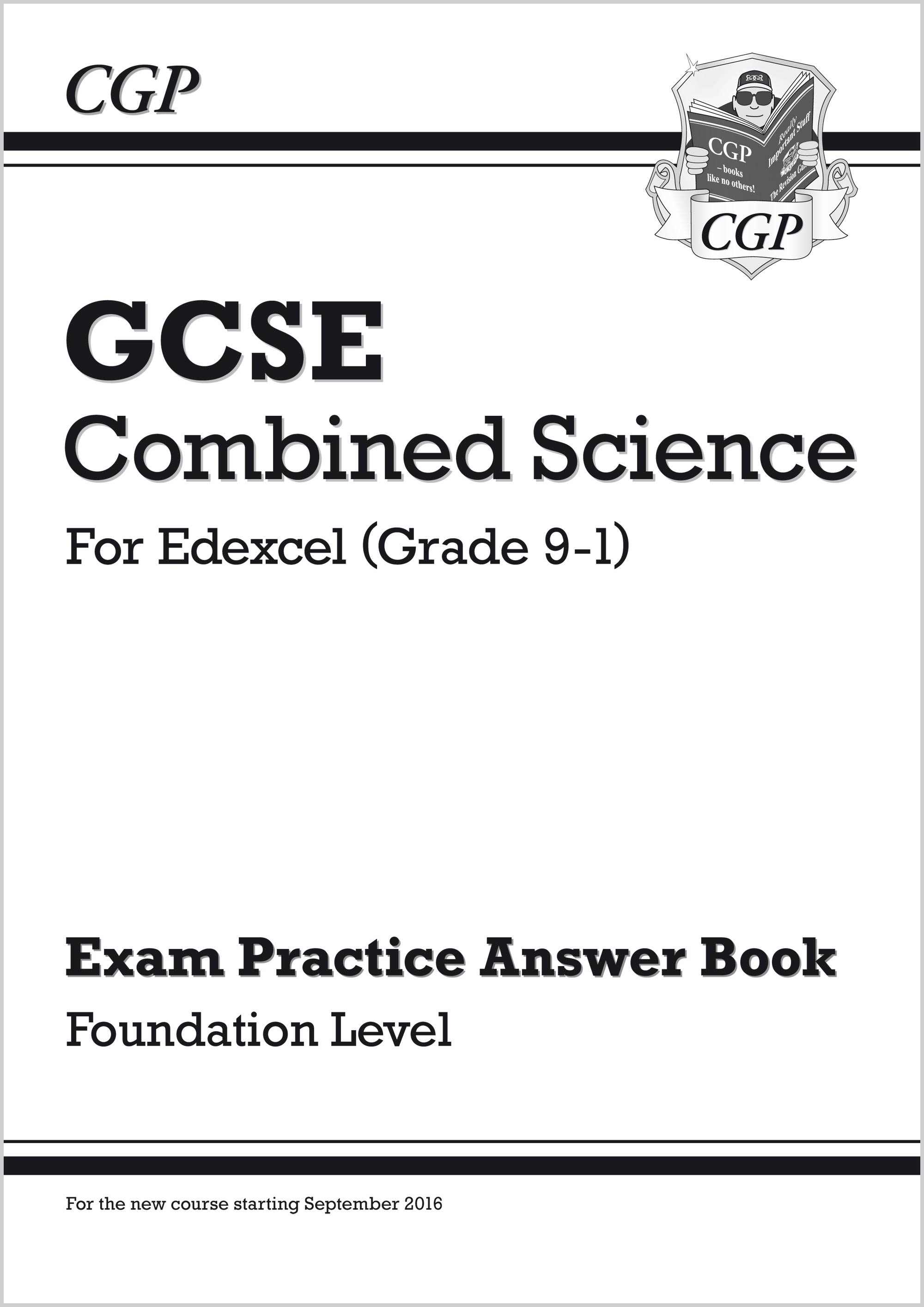 New Gcse Combined Science Edexcel Answers For Exam Practice Workbook