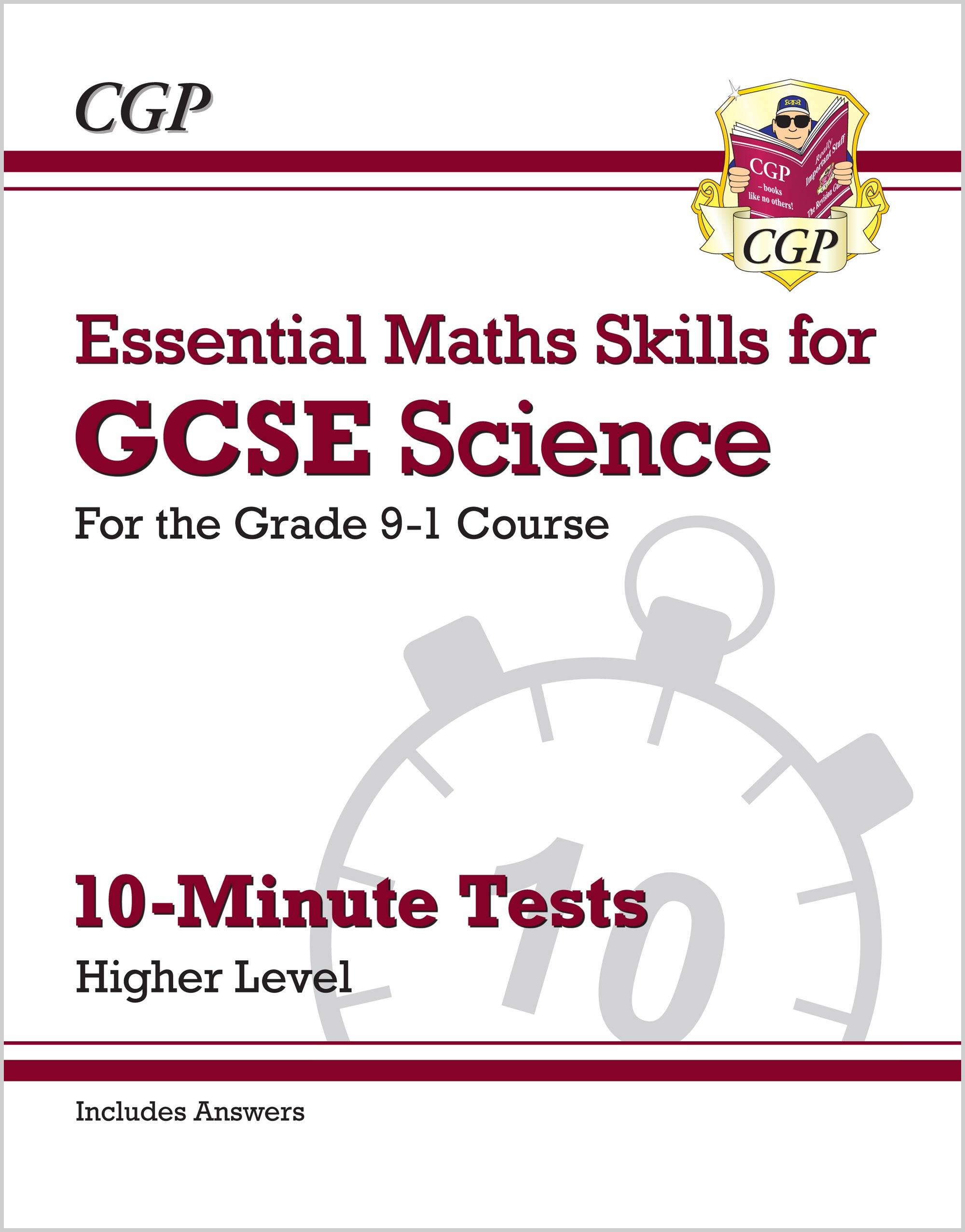 New Grade 9 1 Gcse Science Essential Maths Skills