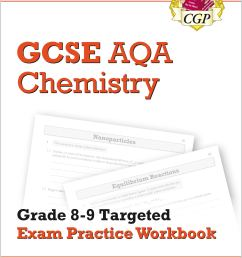 GCSE Chemistry AQA Grade 8-9 Targeted Exam Practice Workbook (includes  Answers)   CGP Books [ 2829 x 2000 Pixel ]