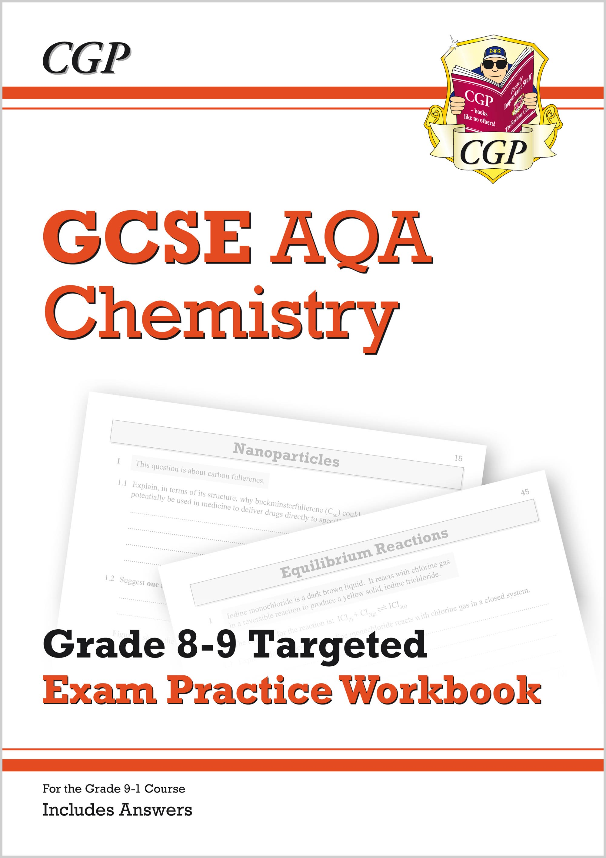 hight resolution of GCSE Chemistry AQA Grade 8-9 Targeted Exam Practice Workbook (includes  Answers)   CGP Books