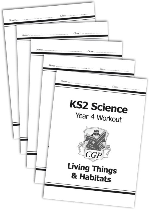 small resolution of KS2 Science Year 6 Workout Bundle   CGP Books