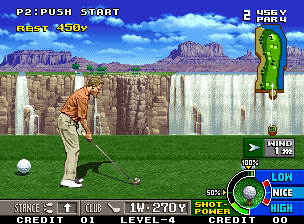 Developer: Nazca Publisher: SNK Genre: Sports/Golf Released: 1996 Rating: 5.0