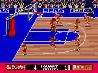 Developer: Sega Publisher: Sega Genre: Sports/Basketball Released: 1990 Rating: 3.0