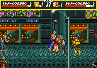 Developer: Sega AM-7 Publisher: Sega Genre: Beat 'Em Up Released: 09/1991 Rating: 4.0
