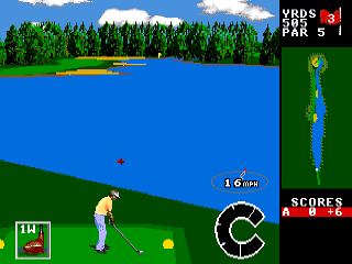 Developer: Access Publisher: U.S. Gold Genre: Sports/Golf Released: 1992 Rating: 1.5