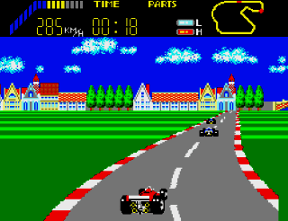 Developer: Sega Publisher: Sega Genre: Racing Released: 1986 Rating: 4.0