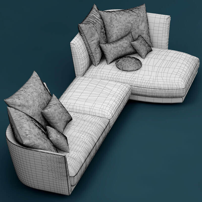 rolf benz sofa reviews the collection fernandez review tondo 3d model for download | cgsouq.com