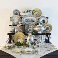 Villeroy & Boch Audun Collection tableware 3D model