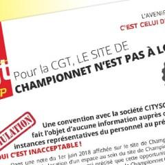 Le site de Championnet n'est pas à louer !