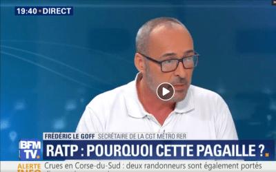 Intervention de la CGT-RATP sur les conséquences des suppressions de postes dans les réseaux RATP