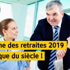 2019, La retraite  par points de Macron