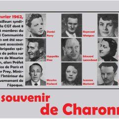 Se souvenir de Charonne (8 février 1962)