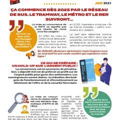 Les «vraies» raisons de l'ouverture à la concurrence de la RATP …