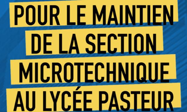 Microtechnique Pasteur – une belle affiche pour vos salles des profs