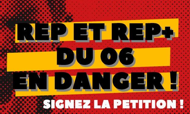 PÉTITIONS : REP et REP+ en DANGER !!!