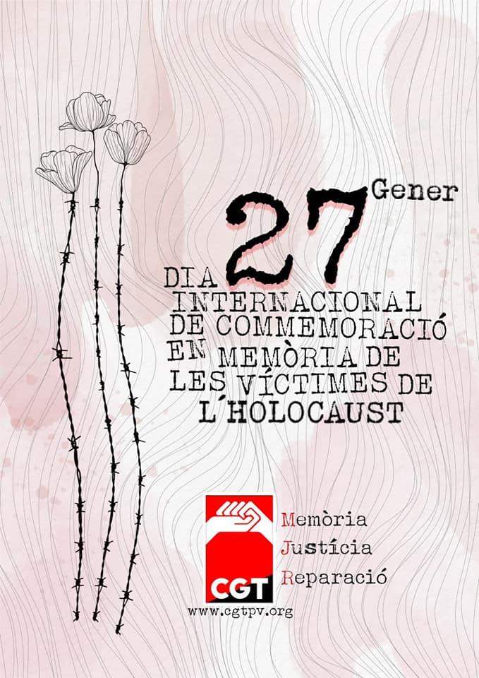 En memoria de las victimas del holocausto