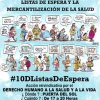 #10DListasDeEspera EN 70 ANIVERSARIO DUDH, MATAN Y VULNERAN EL DERECHO A LA SALUD Y LA VIDA