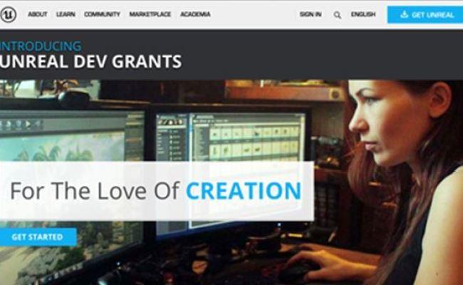 Epic Games Awards 150k In Unreal Dev Grants Computer