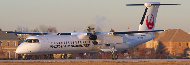 RAC - Ryukyu Air Commuter Bombardier DHC-8-Q400