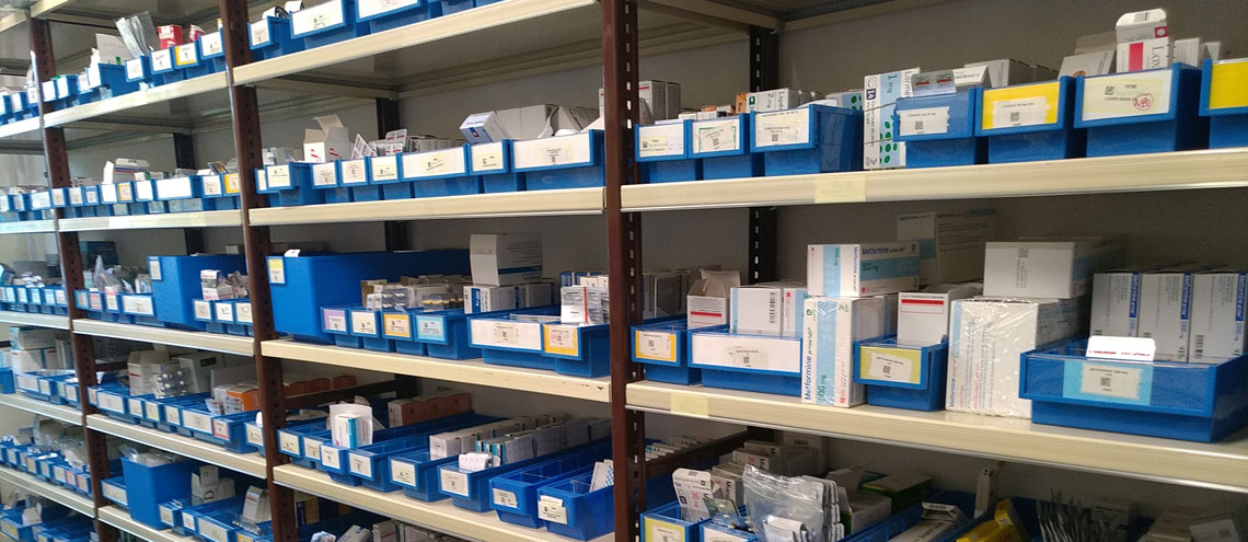 Pharmacie - CH Bazas