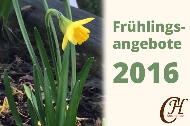 Unsere Angebote für den Frühling 2016
