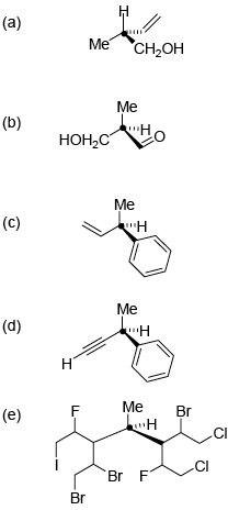 Alan Spivey: Stereochemical tutorial problems
