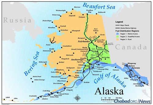 NonJews Help JumpStart New Chabad Center in Alaska A
