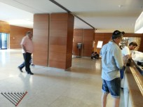 Tefillin in the lobby