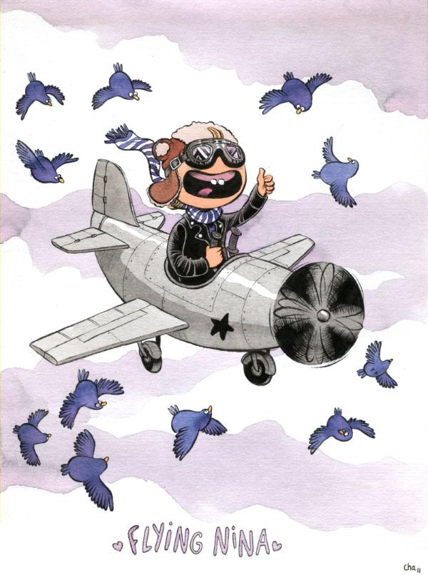 Flying Nina