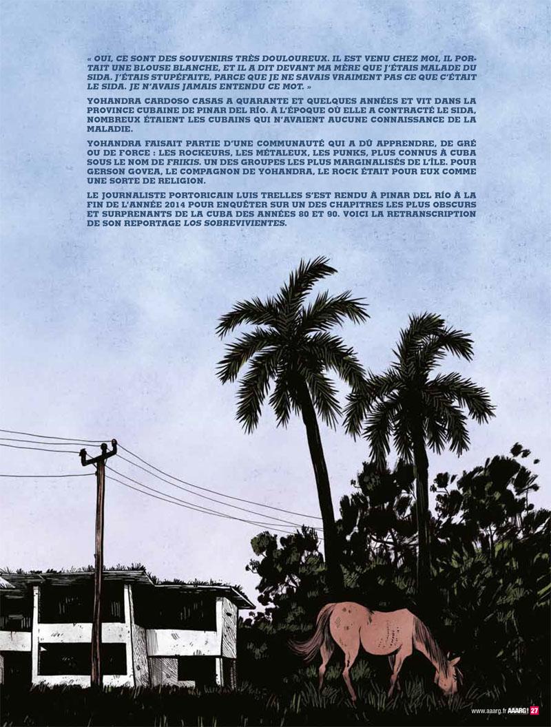 Les survivants AAARG! Cuba Cha