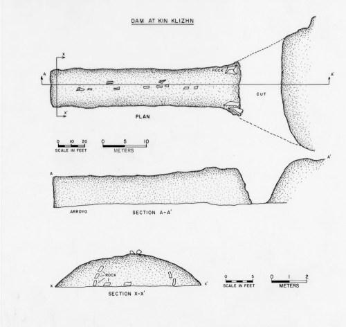 small resolution of plan and profile views of kin klizhin dam 29sj 2444 as drawn by gordon vivian