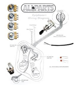 Allparts 335 Wiring Kit