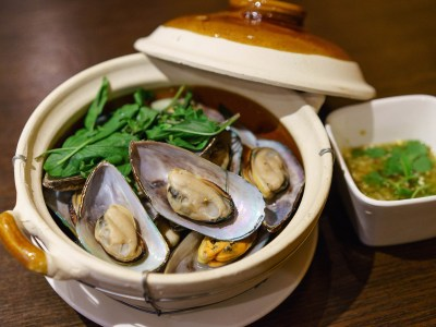 Steamed Mussel (In Clay Pot)