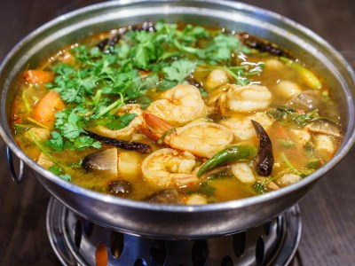 Spicy Shrimp Soup (Tom Yum Koong)