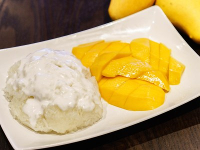 Sweet Rice with Mango