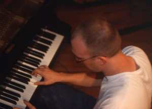 Chad Beall Over Shoulder Piano