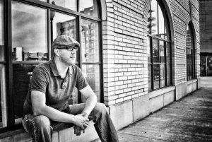 Chad Beall Outside Lofts BW
