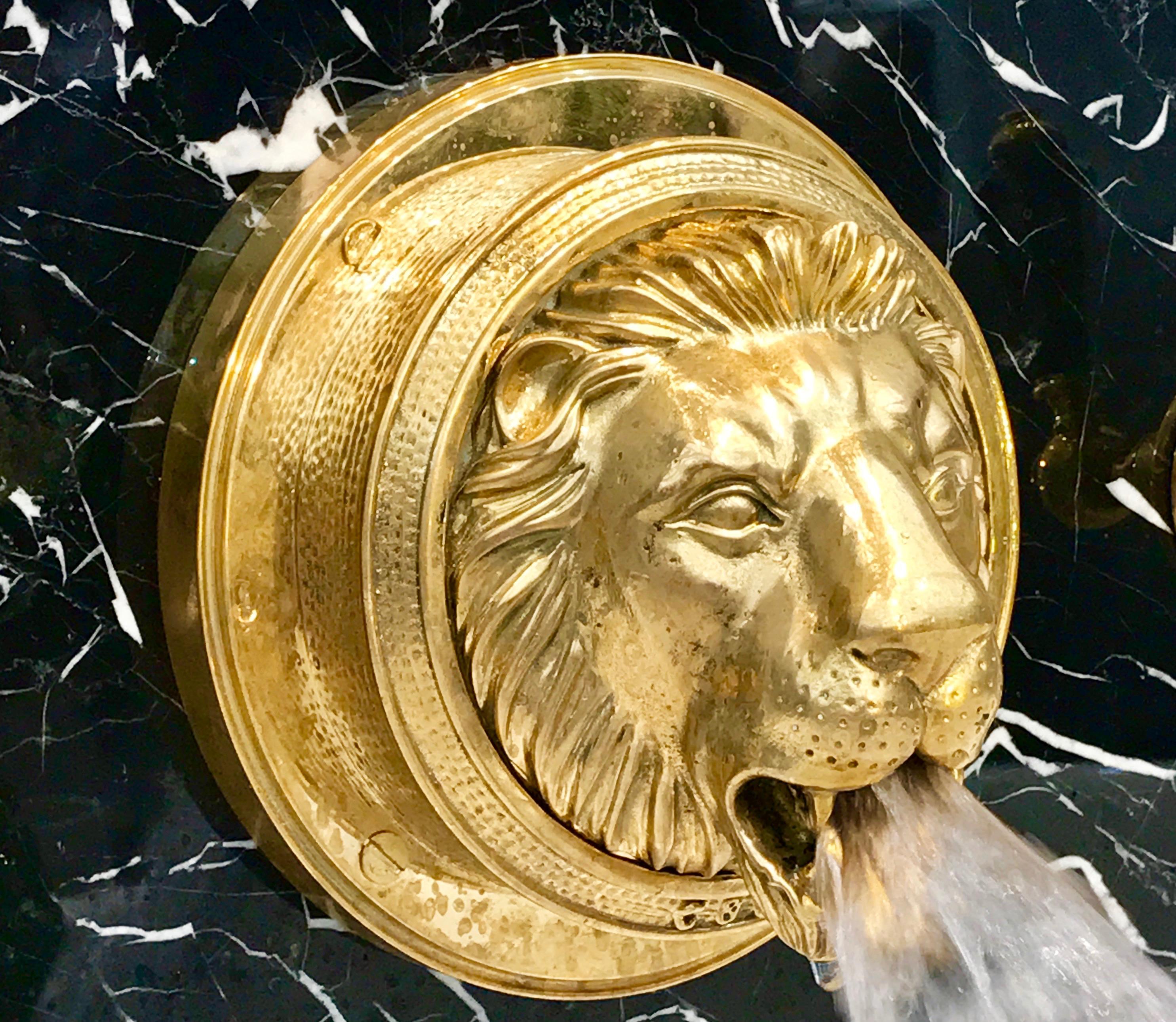 Lion BathBasin Filler  Chadder  Co