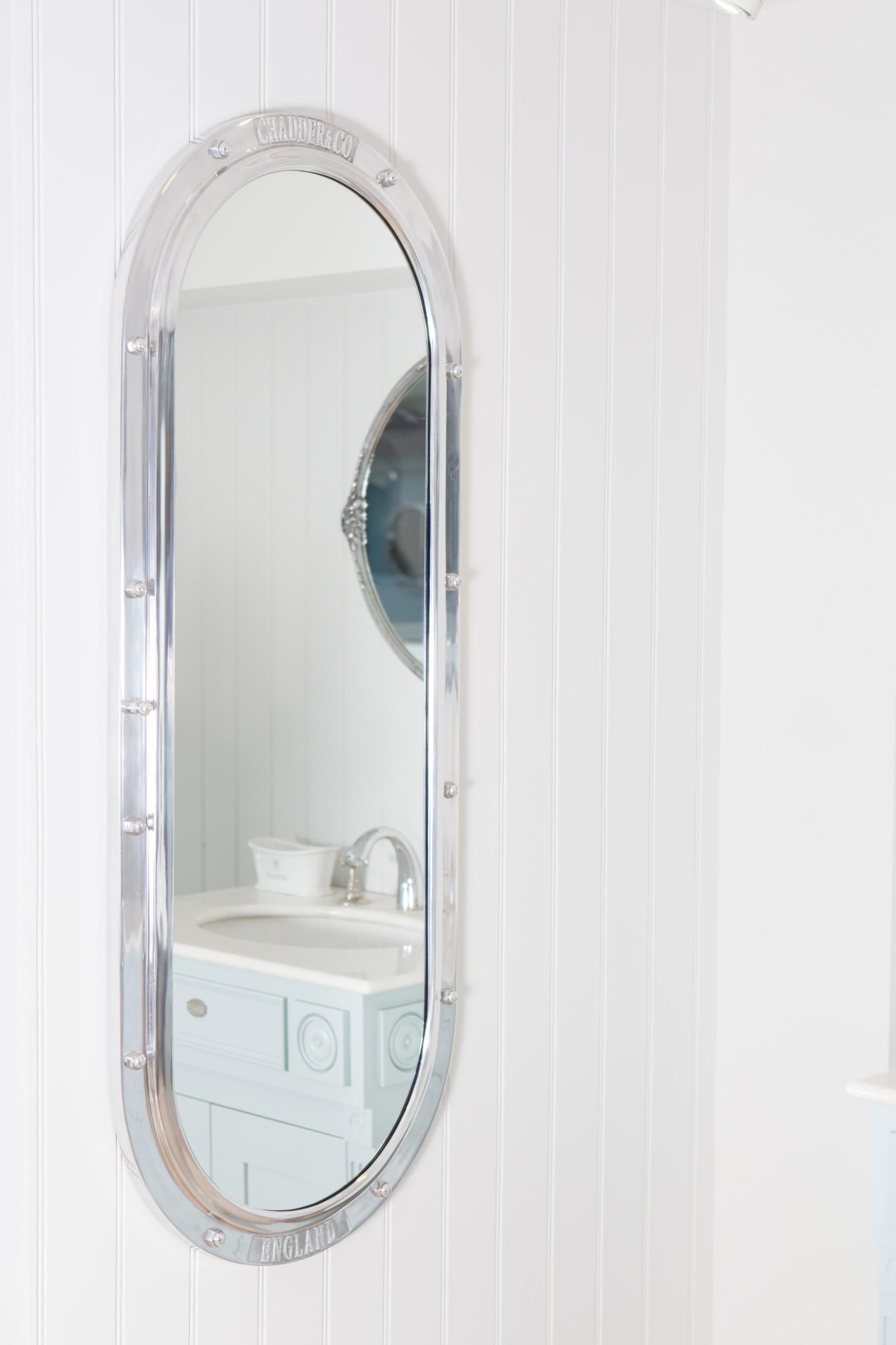Britannia Porthole Mirror Cabinet  Chadder  Co