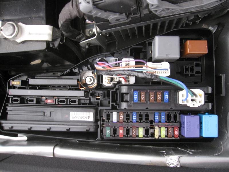 1995 Toyota Camry Fuse Box