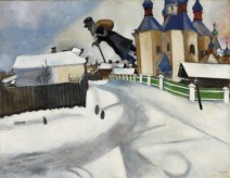 Over Vitebsk by Marc Chagall
