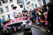 Elvis woos the crowds in Chagford